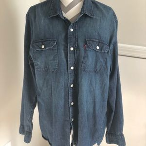 Men's Levi's Denim Shirt